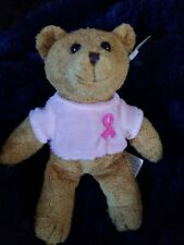 "Avon Breast Cancer Crusade 2001 Mini Teddy Bear 6"" with tags"