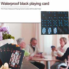 Calidad Impermeable De PVC Plástico jugando a las cartas Set tendencia 54 un Deck Poker Classic