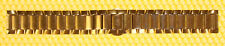 20mm ESQ (by MOVADO) G135Z7G Stainless Steel Watch Gold-Tone Band <<GOOD USED>>