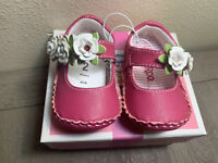 NEW CIRCO Infant Girl AIMEE PINK Shoe Size 2