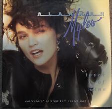 """Alannah Myles – Lover Of Mine Poster Sleeve 12"""" Black Velvet"""