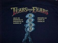 Tears For Fears - 2005 Official Uk Tour T-Shirt - Everybody Loves A Happy Ending