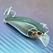 57mm Hard Fishing Lure Bait Crank Swim Bait Fishing Tackle Pike Perch Bass Lures