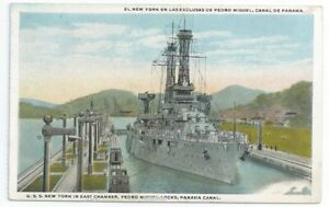 USS NEW YORK New York class Battleship US Navy Unused PC