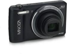 Minolta 20 Mega Pixels HD Digital Camera With 12x Optical Zoom, BLACK # MN12Z-BK