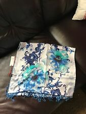 Chinese Silk/wool Long Scarf With Tag