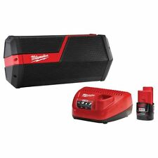 Milwaukee M18 & M12 Wireless Jobsite Speaker 2.0 ah Battery and Charger 2891-21P