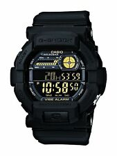 Casio G-shock Vibrating 5 Alarm Black Yellow Gd-350-1ber Watch
