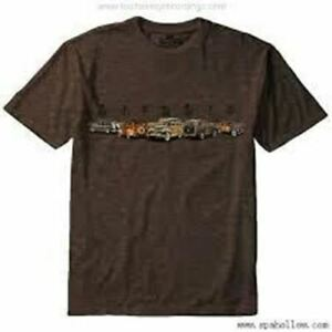 Ford Woodie T-Shirt - Soft Feel Brown Shirt * Woody * NEW! * Free USA Shipping!