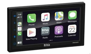 "Boss BV850ACP 6.75"" Double-DIN, Apple CarPlay & Android Auto Car Stereo Receiver"