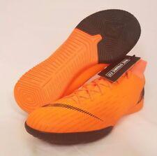 new concept b73b9 4dfcc Nike Mercurial SuperflyX VI Academy IC Football Orange Mens Size 9 AH7369- 810