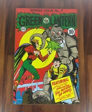Green Lanter Spring Issue No.7 Hanging Wood Sign DC Comics Book Poster Plaque