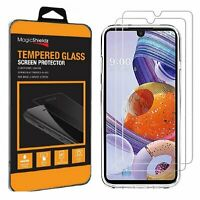 [2-Pack] Premium Tempered Glass Screen Protector for LG Stylo 6