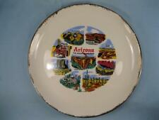 Arizona The Grand Canyon State Decorative Collector Plate Colorful Decals (O)