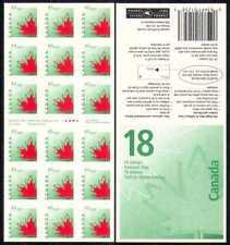 Canada 1998 MAPLE LEAF/NATURA 18 V S/A M/C bklt (n28603)
