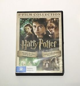 Harry Potter and the Order Of The Phoenix / Half-Blood Prince - 2 DVD Set