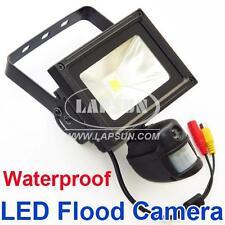 PIR IR 720P HD Video Recorder Motion Camera DVR 10W Auto Flood Light LED Lamp UK