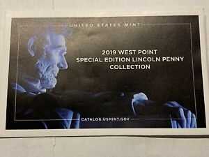 2019 West Point Special Edition Lincoln Penny Collection Uncirculated