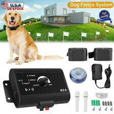 New listing Wireless Electric Dog Fence Pet Containment System Shock Collars For 2 Dogs
