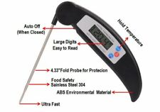 Instant Read Digital BBQ Thermometer Kitchen Food Probe Meat Thermometer