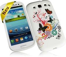 Samsung Galaxy S3/S3 NEO Silkon Case Butterfly Design Handyschutzhülle Etui