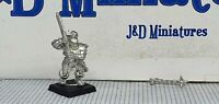 GW Citadel Warhammer Fantasy Battle Warriors of Chaos Marauder with Flail 3 1997