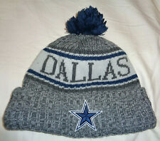 Adult New Era Dallas Cowboys Beanie Blue/Grey/White Size OSFA