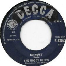"""The Moody Blues  Go Now !   7"""" Record Single"""