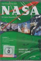 La Geschichte le Nasa : 50 Années Espace Colonne Montante Ins Inconnu DVD Box