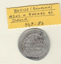 More details for buyids  949 to 83 a.d. daula silver coin in good fine condition