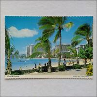 Waikiki Beach Postcard (P346)