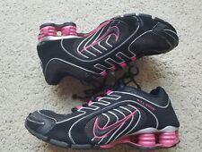 Nike Shox Navina Black Pink Sparkle Women's sz 7.5