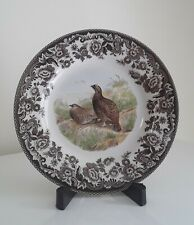 """New Spode Woodland Red Grouse Game Bird: Salad Plate (s), 7 3/4"""""""