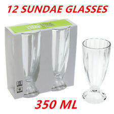 THICK GLASS 350ML SUNDAE GLASSES DESSERT WEDDING PARTY 350 ML CANDLE MAKING WMCV