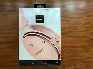 Bose QuietComfort 35 Series II Rose Gold Limited Edition NEW
