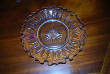 WONDERFUL EARLY FINE CRYSTAL HAND CUT AND MOLDED PLATE VERY FINE DECORATED DISH