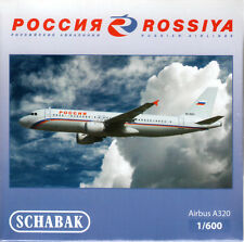 -  SCHABAK / SCHUCO  -  ROSSIYA A320  (Airbus)  -  1:600  -  403551585  -  NEU