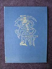 WILL EISNER HARD BOUND ART PORTFOLIO LIMITED EDITION S/N SPIRIT 1977
