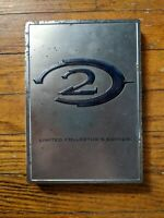 Halo 2 Limited Collectors Edition Original Xbox Game Steel book Steelbook Case