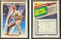 Brad Brink Signed 1993 Topps #818 Card Philadelphia Phillies Auto Autograph