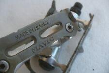 Mavic 640 SSC GD filetage français 9/16x20 Pedals Very Good Condition pedales