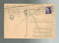 1944 Germany Theresienstadt Concentration Camp KZ Package thank Cover Oskar Lowy