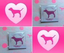 "NEW Victoria's Secret PINK Glitter Dog Stickers (1) Sheet 10pcs ""3.8 x 2.4"" ++"
