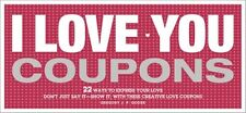 NEW I Love You Coupons, 2E by Gregory Godek