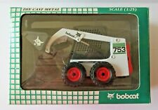 Die cast 1:25 - Bobcat green box 753 skid loader by Wan Ho