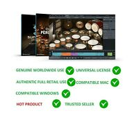 TOONTRACK SUPERIOR DRUMMER 3 + ORCHESTRAL SDX VIRTUAL DRUMMING SOFTWARE LICENSE