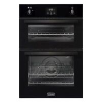 Stoves BI900G Built In 60cm Wide Gas Double Oven Black Tower Unit A/A Rated NEW