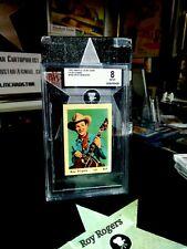 1952 Maple Leaf Gum Roy Rogers BVG 8
