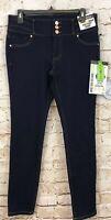 D Jeans High waist skinny jeans womens 8 NEW dark wash recycled denim C9