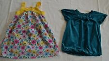 Lot of (2) Girl's Size 5 Dresses- Healthex, Sugar & Honey (6,18)
